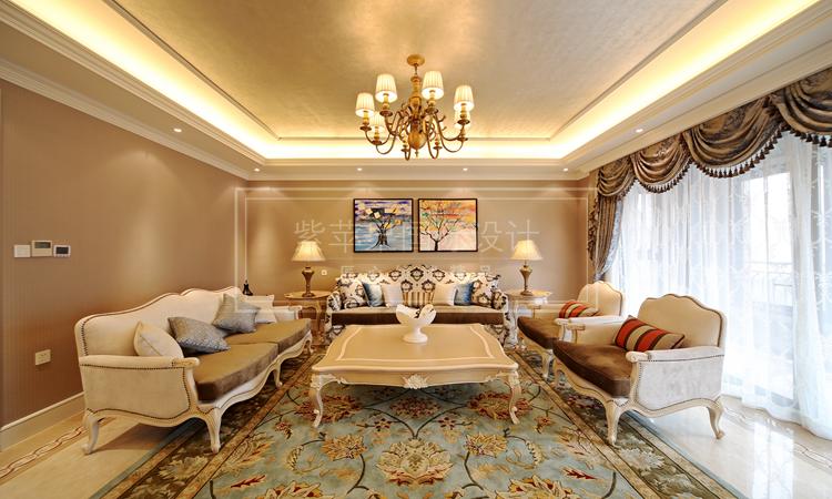 上海美式豪宅装修设计